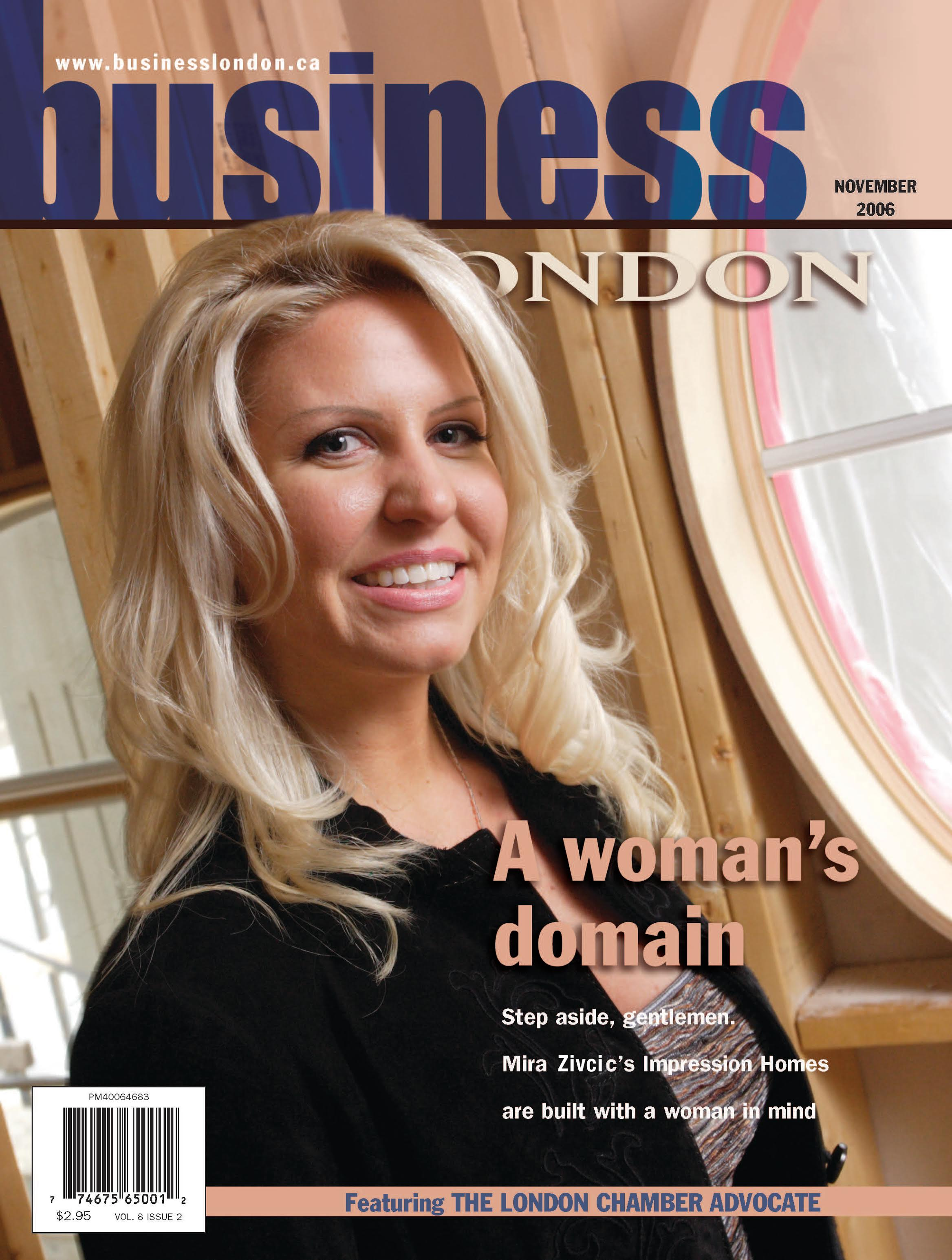 Business London Magazine Featuring Mira